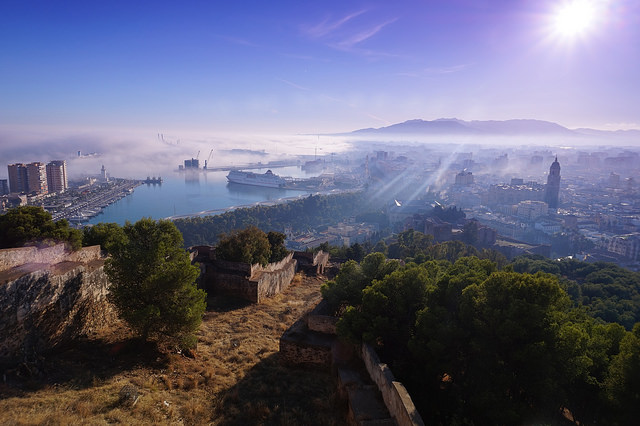 Views of Malaga, Visit Benalmadena